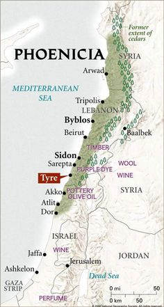 Recorded history shows a group of coastal cities and heavily forested mountains inhabited by a Semitic people, the Canaanites, around 4000 BC. These early inhabitants referred to themselves according to their city of origin, and called their nation Canaan. They lived in the narrow East-Mediterranean coast and the parallel strip mountains of Lebanon. They established trade routes to Europe and Western Asia. Phoenician ships circumnavigated Africa a thousand years before those of the…
