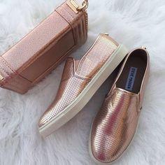 blush slip on shoes