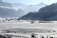 Sihlsee Lake, Switzerland (Urs Flueeler/Keystone/Associated Press)