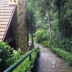 """Casa da bruxa -  Bosque do Alemão - Parque de Curitiba  Local onde há leitura de Histórias para crianças, contadas por uma """"bruxa"""". Atenção: horários específicos."""