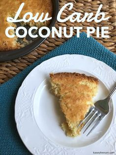 Low Carb Coconut Pie