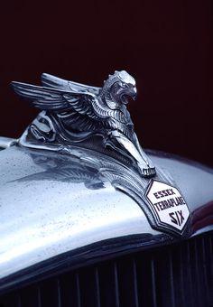 1933 Hudson Essex Terraplane Griffin Hood Ornament Photograph