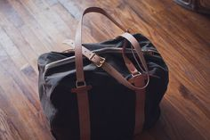 weekender bag. Add a monogram and you're good to go.