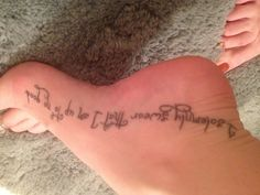 """Harry Potter Inspired Tattoo. """"I solemnly swear that I am up to no good"""""""