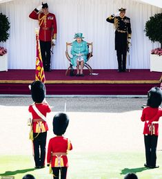 Her Majesty watched the set of military drills and a musical performance by a Band of the... Buckingham Palace Garden Party, Ancient Aliens, Ancient Egypt, Ancient History, Ancient Greece, Queen's Official Birthday, Autumn Phillips, Non Commissioned Officer, Duke Of York