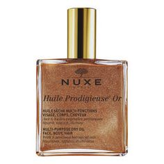 Huile Prodigieuse® Or - Wielofunkcyjny suchy olejek twarz, ciało, włosy - Nuxe