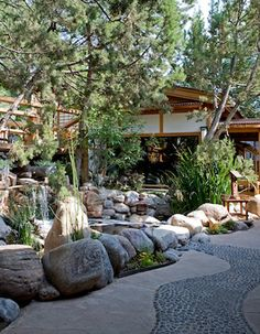 Ten Thousand Waves - Luxury Mountain Spa in Santa Fe, New Mexico. The private outdoor hot tubs when there is fresh snow all around is an amazing experience.