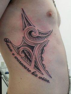 Cool Rib Tribal Tattoo for Women | Tats | Pinterest | Tattoo, Samoan ...