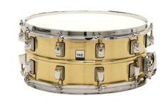 Taye Drums BS1465 14 x 6.5 Inch Brass Snare Drum by Taye Drums. $203.22. 14x6.5 brass shell snare drum. Triple flange hoops top and bottom, independent lugs top and bottom, Patented Side Latch snare release.