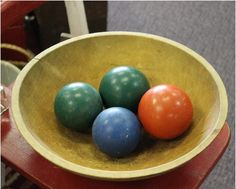 Bocce Ball Bowl