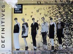 A/W 14/15 London Fashion Week windows: VM analysis