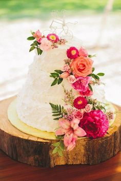 Floral Wedding Cakes