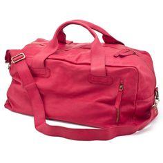 CHISSENE+RED+TRAVEL+BAG-weekender+by+daniela