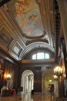 Inside the Beautiful New York Public Library | Flickr - Photo Sharing!