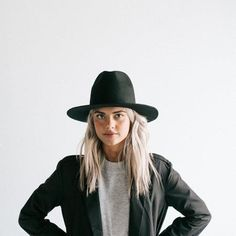 The Billie is our favorite tall hat for women and fits perfectly in the Gigi Pip family. This tall crown hat is your new go-to for Fall. It towers over the rest with a crown height of and brim width of Winter Hats For Men, Hats For Women, Short Brim Hat, Leather Cowboy Hats, Tall Hat, Fashion Over, Fashion Hats, Fashion Edgy, Fashion 2017
