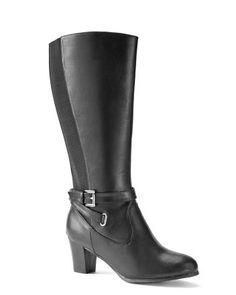Wide Width High-Heel Boots | Penningtons
