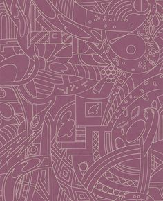 Map : Purple & Gold Wallpaper from www.grahambrown.com