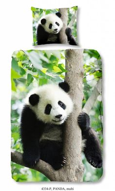 Kids-Style Dekbedovertrek Panda 4334