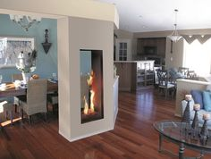 1600I L1 Linear 2-Sided Series | Valor Fireplaces - L1 Linear ...