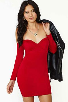 Nasty Gal Playing With Fire Dress