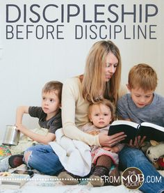 There's a holy order to growing up in Christ, and there's an order to our children growing up, too. It's not as elusive as it seems on most long parenting days. It's actually quite simple. First we disciple them, then we layer in discipline, and finally we pull back our need to discipline as they …