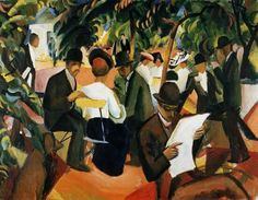by painter August Macke