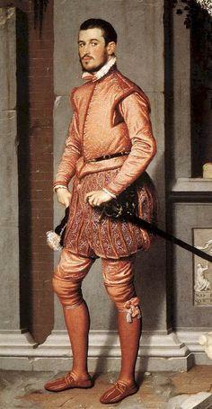 giovan battista moroni il cavaliere in rosa - Cerca con Google