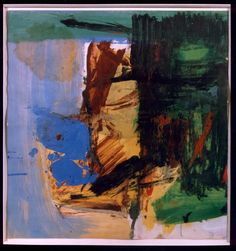 "Franz Kline.(1910-1962) was an American painter mainly associated with the abstract expressionist movement centered around New York in the 1940s and 1950s.  He was labeled an ""action painter"" because of his seemingly spontaneous and intense style, focusing less, or not at all, on figures or imagery, but on the actual brush strokes and use of canvas."