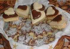 moje záľuby...: Kokosové koláčiky plnené