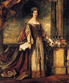 1840 Queen Victoria by Sir David Wilkie (private collection)