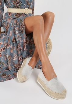 Espadrile dama Laguna Gri Espadrilles, Flats, Shoes, Fashion, Espadrilles Outfit, Loafers & Slip Ons, Moda, Zapatos, Shoes Outlet