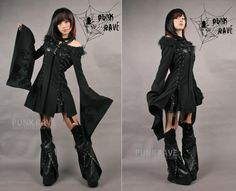 Gothic Jacket with Chinese sleeves | Pixieknix