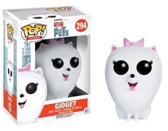 What do your pets do when you're not home? The Secret Life of Pets Gidget Pop! Vinyl Figure features the Pomeranian as a stylized vinyl figure! Standing about 3 3/4 inches tall, this figure is packaged in a window display box #funko #popvinyl #actionfigure #collectible #TheSecretLifeofPets #Gidget