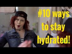 VIDEO: 10 Ways to Stay Hydrated - Cystic Fibrosis News Today
