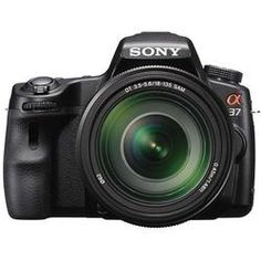 Sony - SLT A37 with Translucent Mirror Technology & DT 18-135mm Lens