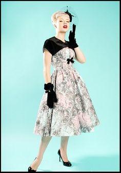 PIN-UP COUTURE 50s DRESS & BOLERO