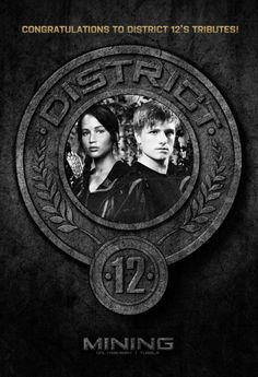 hunger games districts game and symbols on pinterest