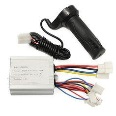#BangGood - #Eachine1 24V 500w Motor Brush Speed Controller & Electric Bike Scooter Grip - AdoreWe.com