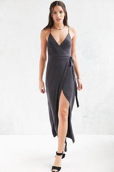 Silence + Noise Rock Ridge Wrap Maxi Dress on ShopStyle