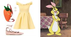 You Pretty Much Need These 14 Novelty Bags to Complete Your Next DisneyBound Look   Winnie the Pooh's Rabbit-inspired outfit + Oilily carrot purse   [ http://di.sn/6000B7fNi ]