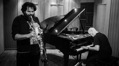 """Ships and shepherds"" Alex Maguire piano and Nikolas Skordas saxophones ..."