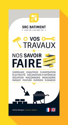 Creative yellow annual report leaflet brochure flyer for Idee nouvelle entreprise
