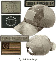 Build Your Tactical Threeper Cap- another Gadsden and Culpepper Product
