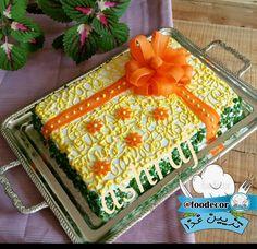 تزیین کیک مرغ Salad Design, Food Design, Sandwich Cake, Sandwiches, Good Food, Yummy Food, Iranian Food, Food Decoration, Food Art