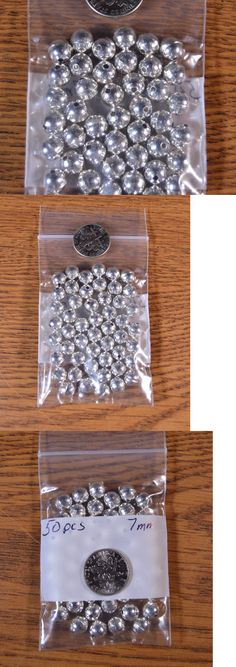 Metals 179269: 50 Sterling Silver 7Mm Bench Made Beads Style Raised Seam Lot Of 50 Usa -> BUY IT NOW ONLY: $44.16 on eBay!