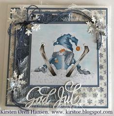 Kirstens Hobbyblogg: Julekort