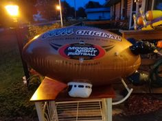Coors Original NFL Monday Night Football 35th Annv. Blimp Inflatable Beer BlowUp