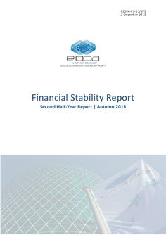 EIOPA Financial Stability Report 2013 by Lucas Wyrsch via slideshare Financial Stability, Global Economy, Author, News, Business, Writers, Store, Business Illustration