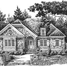 The Maple Ridge<br />Plan #442 - 18 Small House Plans - Southern Living