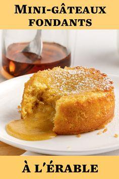 Un dessert facile pour se régaler pendant le temps des sucres! French Toast, Nutrition, Breakfast, Cake, Desserts, Sugar, Molten Cake, Easy Desert, Cooking Food